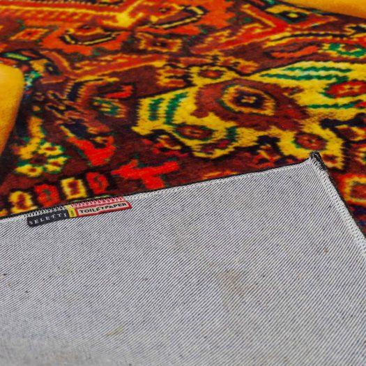 """Lady on Carpet"" rectangular rug"