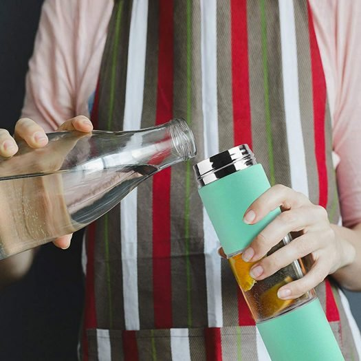 """""""Flavor U See"""" – A Slim and Classy Fruit Infuser Water Bottle"""