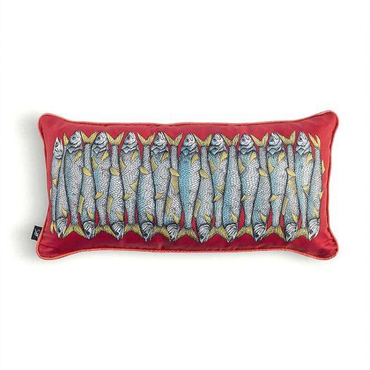 Sardine Silk Cushion 50x25cm