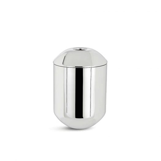 Form Mirrored Stainless Steel Caddy