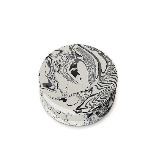 Swirl Marble and Resin Dumbbell Hook 12cm