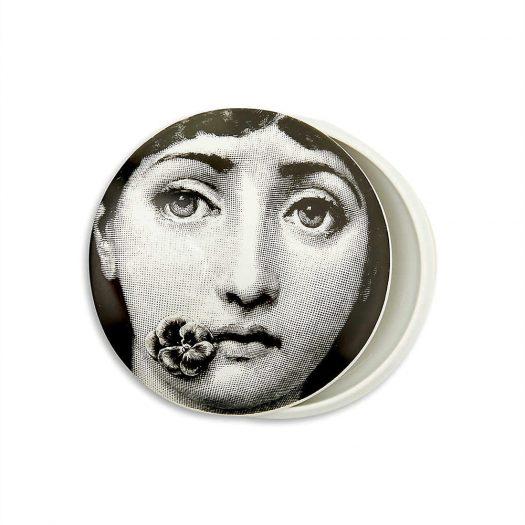 FORNASETTI T&V Porcelain Box 10cm