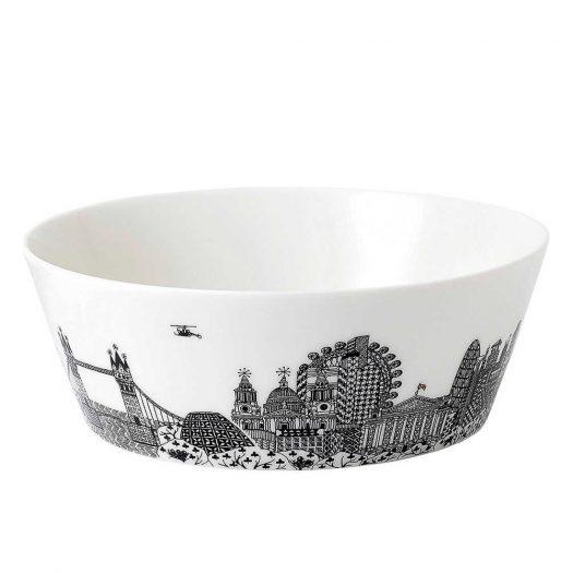 Charlene Mullen London City Scape Bowl 25cm