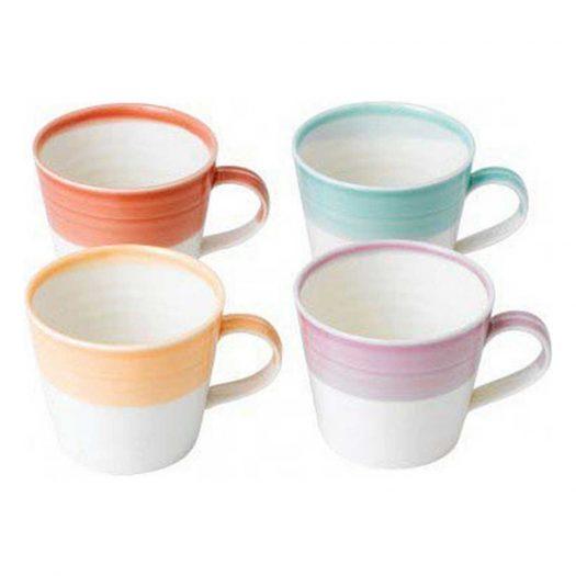 1815 Set of Porcelain Mugs Small