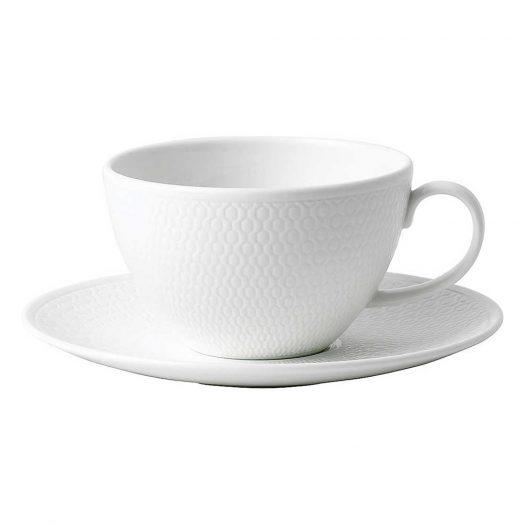 Gio Fine Bone China Tea Cup and Saucer