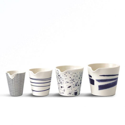 Pacific Porcelain Nesting Jugs Set of Four