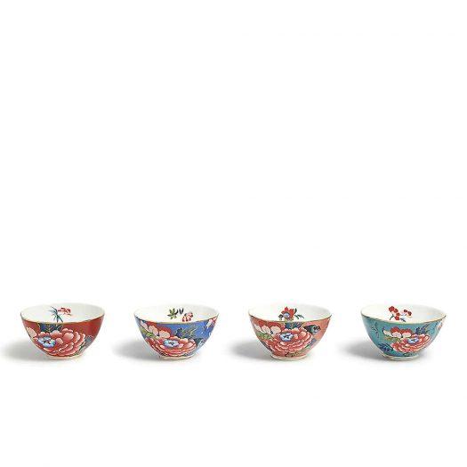 Peonia Blush Ice Cream Bowls Set of Four