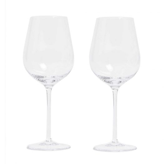 Globe White Wine Glasses Set of Two