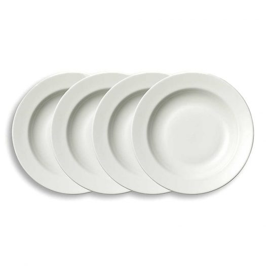 Vera Perfect White Soup Plate Set of Four