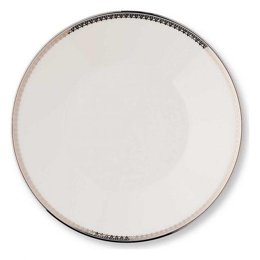 Lace Platinum Tea Saucer