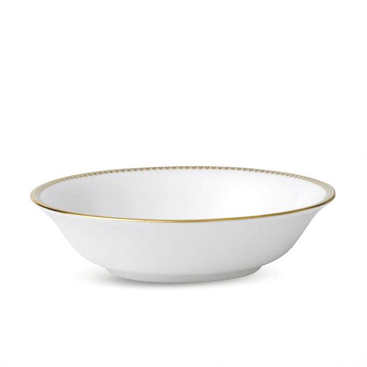 Lace Gold Fine Bone China Cereal Bowl 16cm