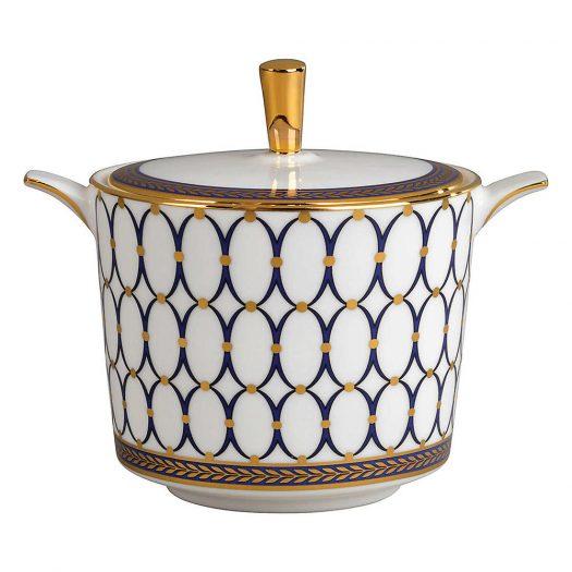Renaissance Gold Covered Sugar Bowl
