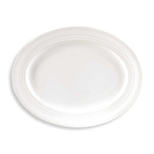 Intaglio Small Oval Dish