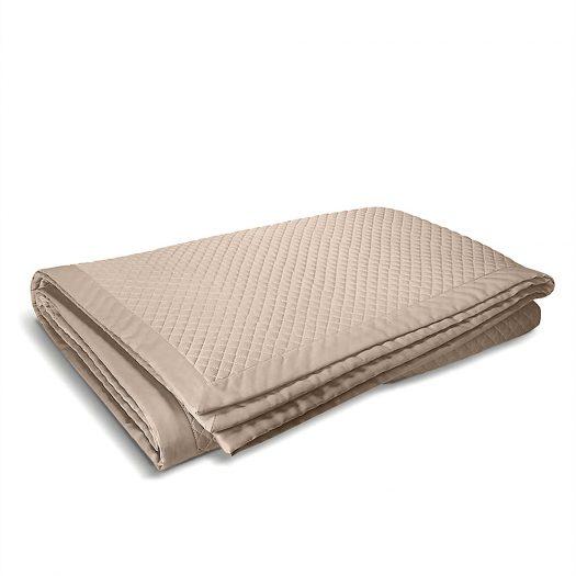 Wyatt Quilted Cotton Pillowcase 65x65cm