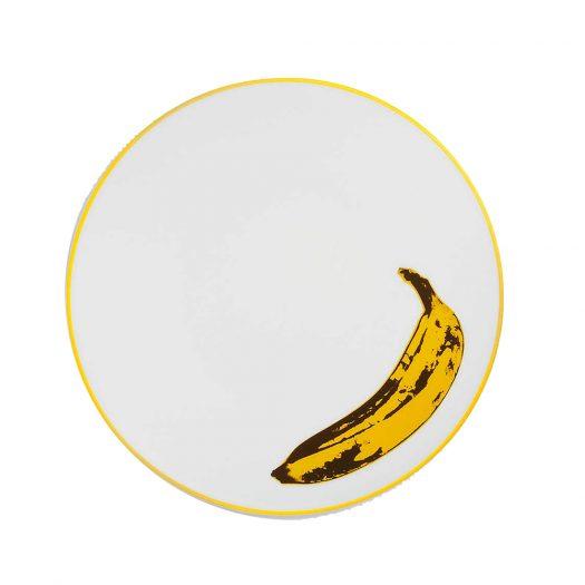 Andy Warhol Banana Porcelain Plate 21cm