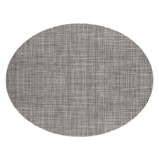 Basketweave Oval Placemat 36 x 49 cm