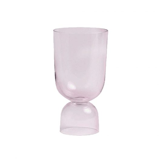 Bottoms Up Glass Vase 21.5cm