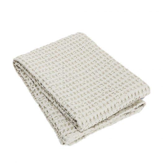 Caro Waffle-knit Cotton Bath Towel 140x70cm