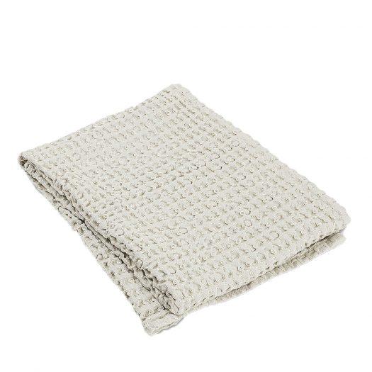 Caro Waffle-knit Cotton Hand Towel 100x50cm