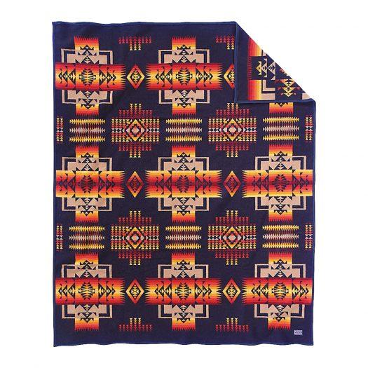 Chief Joseph Wool and Cotton-blend Blanket 163cm x 203cm