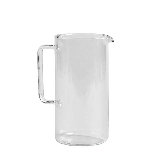 Clear Glass Jug 1L