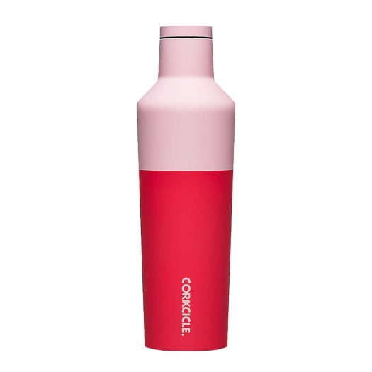 Colour Block Stainless Steel Canteen 9oz