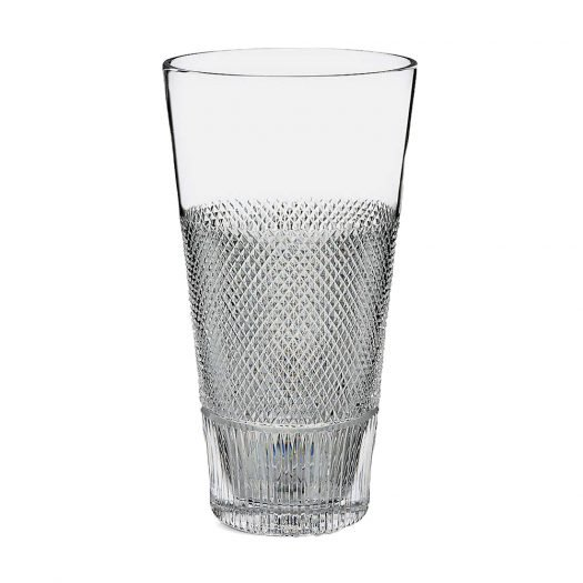 Diamond Line Crystal Vase 30cm