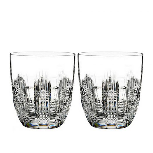 Dungarvan Set of Two Double Old Fashioned Glasses