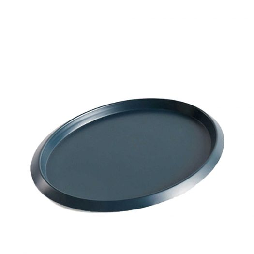 Ellipse Stainless-steel Tray 23.5x18.5cm