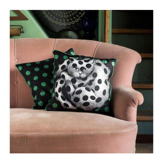 High Fidelity Silk Cushion 45cm x 45 cm