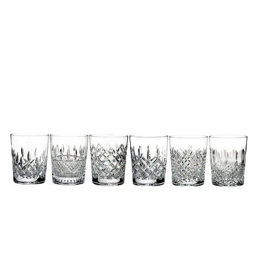 Lismore Connoisseur Heritage Double Old Fashioned Tumblers (Set of 6)