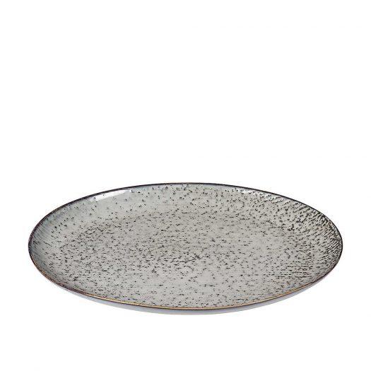 Nordic Sea Stoneware Serving Oval Plate