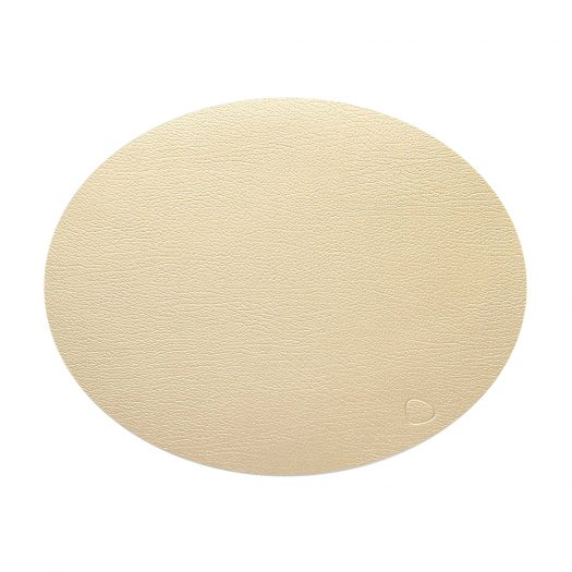 Oval Leather Table Mat 45cm x 36cm