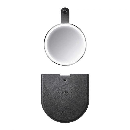 Rechargeable Sensor Compact Mirror