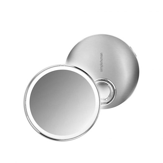 Rechargeable Sensor Compact Mirror