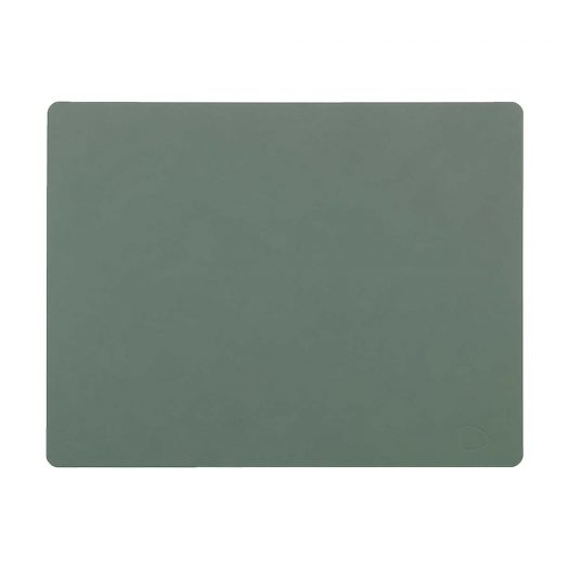 Square Leather Table Mat