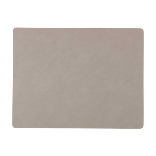 Square Nupo Light Grey Table Mat
