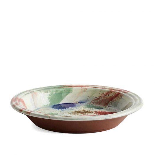 Swirl Terracotta Bowl 36cm
