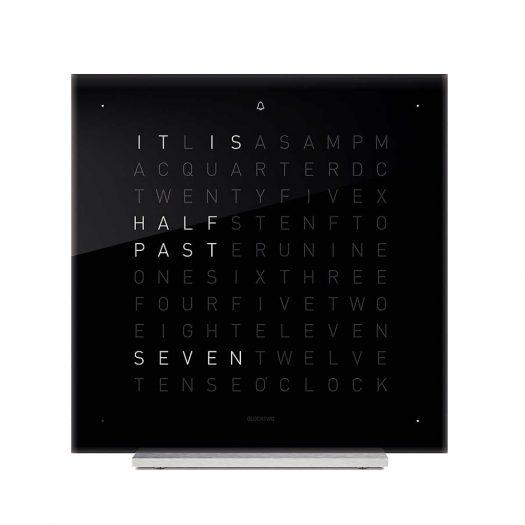 Touch Black Ice Tea Acrylic Clock 13.5cm