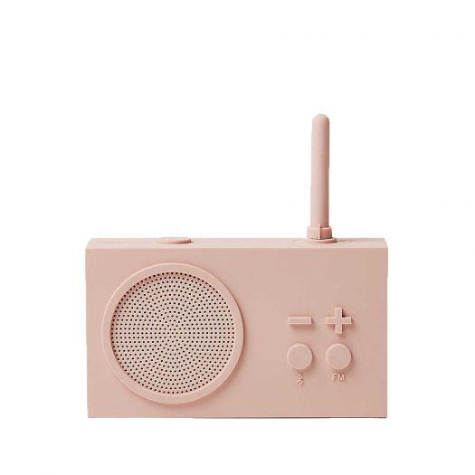 Tykho 3 FM Silicone Radio and Speaker