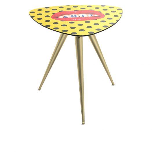 Sh*t Wooden Side Table 48cm
