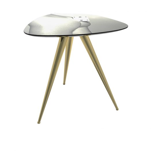 Two Of Spades Side Table 48cm
