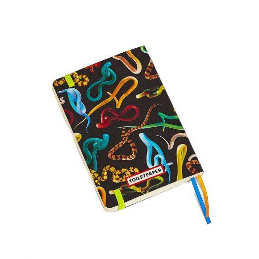 Seletti Wears Toiletpaper Snakes Notebook 15cm X 10.5cm