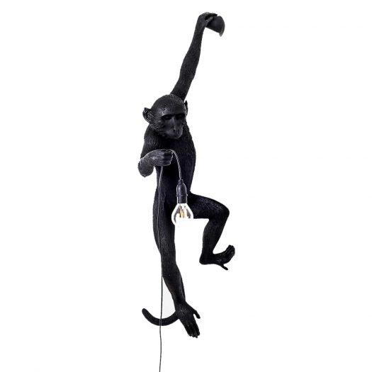 Hanging Monkey Resin Outdoor Lamp 75cm