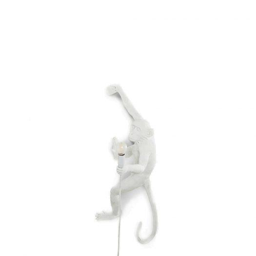 Monkey Resin Indoor Lamp 80cm