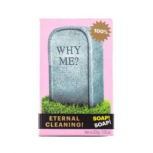 Seletti Wears Toiletpaper Why Me? Tombstone Soap