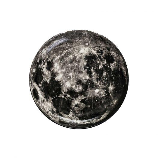X Diesel Cosmic Dinner Moon Porcelain Tray 30cm