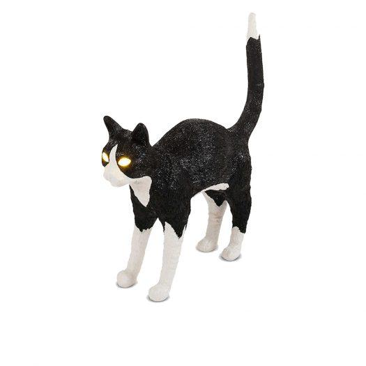 Jobby The Cat Resin Lamp
