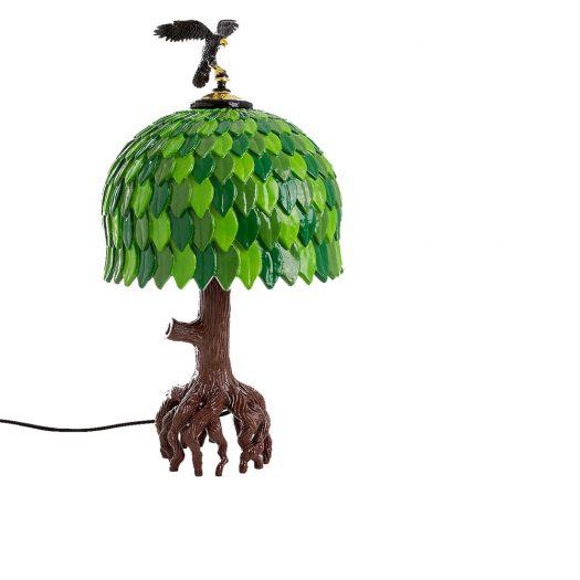 Tiffany Resin Tree Lamp 73cm X 38cm