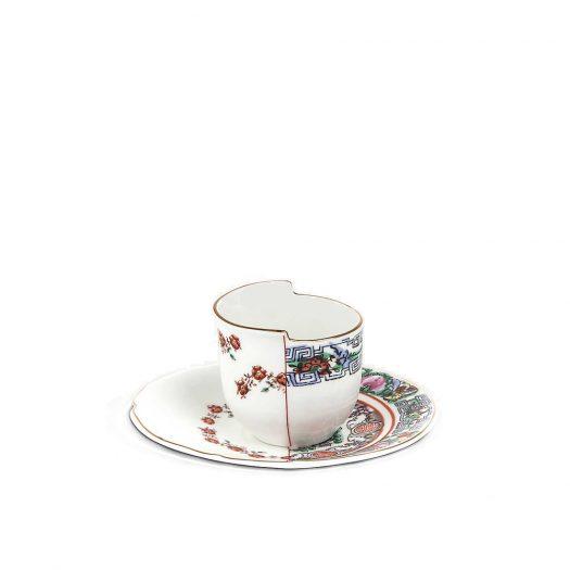 Tamara Hybrid Porcelain Coffee Cup And Saucer